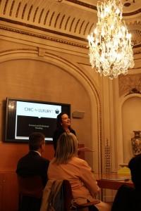 Georgina Mallafre en Charla Personal and Professional Branding