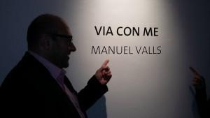 Jordi Pallarès en exposición de Manuel Valls